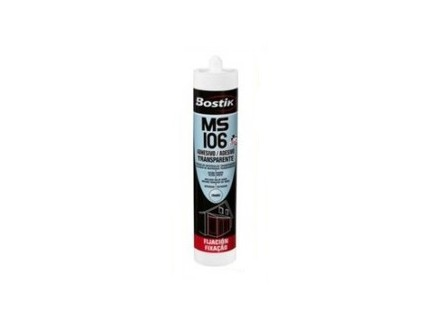 Sellador MS106 Bostik Transparente 290 ML