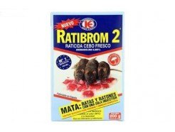 Cebo Fresco Ratibrom-2 Raticida 200 GR