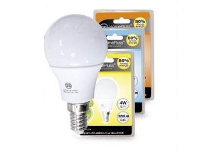 Lámpara Esférica LED 4W HomePluss Ref. 8000216