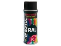 Spray Acrílico Top Acrylic Negro Mate 9005 (400 ML)